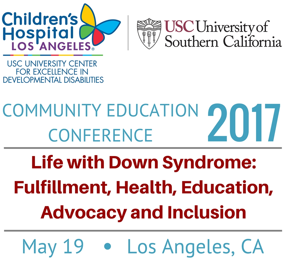 USC UCEDD Community Education Conference 2017 Logo